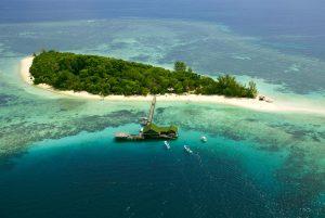 Lankayan Island diving stay desert island asiaqua