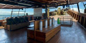 Cheng Ho Dive Deck Croisière Komodo Asiaqua