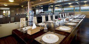 Cheng Ho Restaurant Croisière Komodo Asiaqua